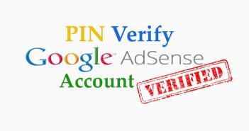 來自 Google 明信片 - AdSense PIN 個人識別碼,帳號驗證請款必備