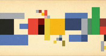 [Google塗鴉] Sophie Taeuber-Arp 幾何抽象藝術家蘇菲·陶柏·阿爾普冥誕致敬