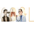 [Google塗鴉] Rene Laennec 何內·雷奈克聽診器發明家 235 歲冥誕紀念